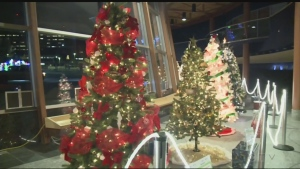 Over 15 beautifully decorated Christmas trees are being auctioned off in the return of a classic Sudbury holiday tradition at Science North.