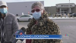 Residents weigh in on lockdown