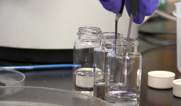 Research scientists at Natural Resources Canada are struggling with limited access to laboratories and offices, forcing them to get creative in how they do their work. (Christian D'Avino/CTV News))