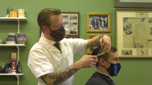 Barber opens up men's mental health conversation