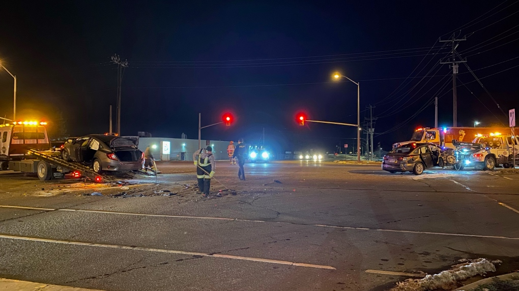 Crash on Highway 7/8