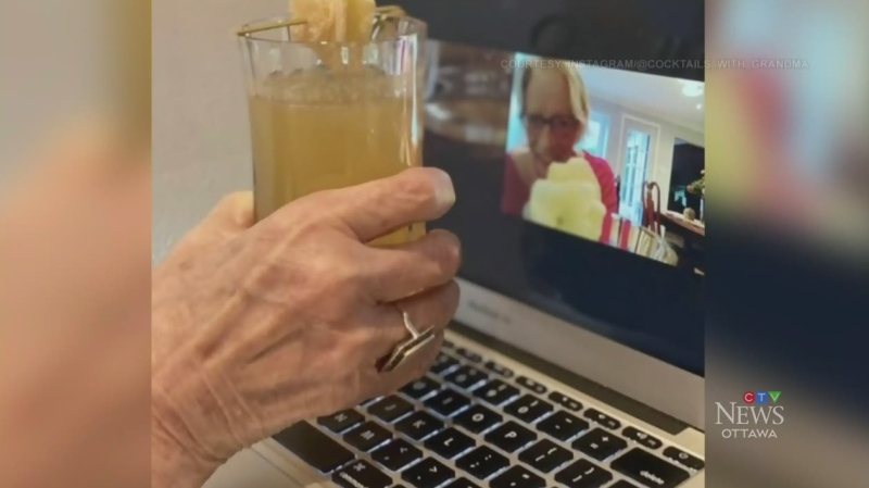 'Cocktails with Grandma'