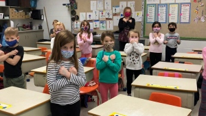 Prince Albert teacher embraces sign language