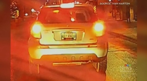 Winnipeg reports license plate over message