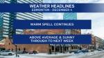 Dec. 4 weather headlines
