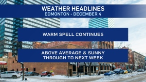 Dec. 4 weather headlines