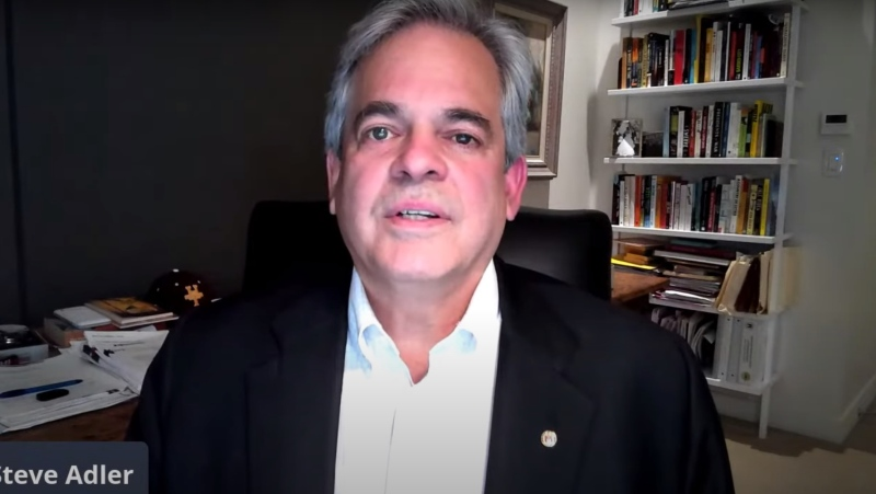 Mayor Steve Adler of Austin, Texas, apologized after advising against travel while he was in Mexico. (Mayor Adler/Youtube)