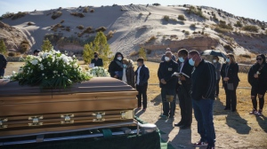 The United States is hitting new highs in terms of deaths. (AFP)