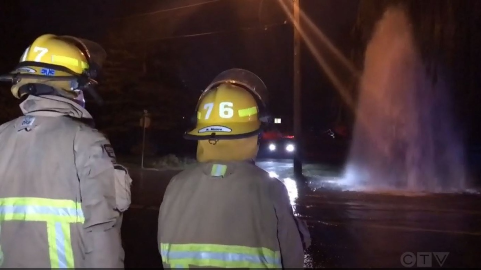 Firefighters were called to the 1300-block of Fitzgerald Avenue around 6:30 a.m. (CTV News)