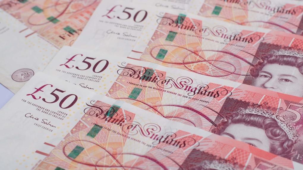 Missing U.K. bank notes