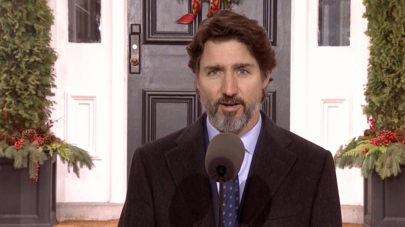 PM Trudeau for Dec. 4