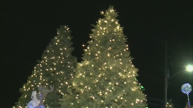 Santa's Parade of Lights goes drive-thru