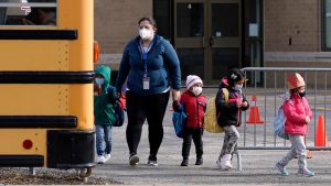 Toronto and Peel Region have updated their symptoms of COVID-19 that would force a child to stay home from school. (The Canadian Press)
