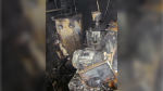 A deadly fire in East Vancouver last year was caused by a leak in a hot-water heater that had been modified - against manufacturer specifications - to heat oil instead, according to a report from WorkSafeBC. (WorkSafeBC)