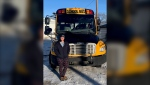 A southern Alberta bus driver has been overwhelmed by community support after driving kids to school hours after her house caught fire