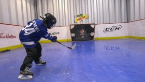 Weyburn man creates elaborate backyard rink