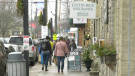 Businesses is booming in Merrickville during the COVID-19 pandemic. (Nate Vandermeer/CTV News Ottawa)