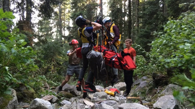 Search and rescue TV series a hit