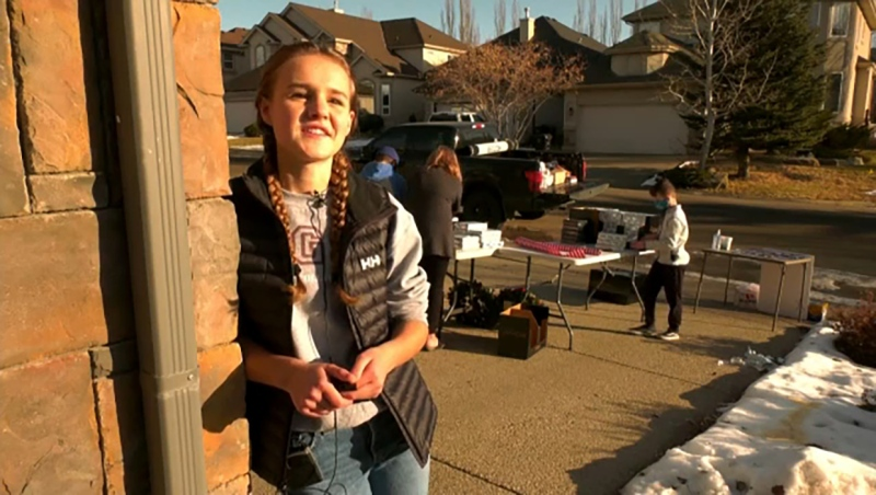 A group of Calgary teens have launched a charity to help people in need over the holidays.