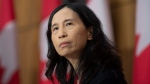 Chief Public Health Officer Dr. Theresa Tam listens to a question during a news conference Tuesday December 1, 2020 in Ottawa. THE CANADIAN PRESS/Adrian Wyld