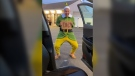 Man dresses as 'Elf' to meet his birthfather