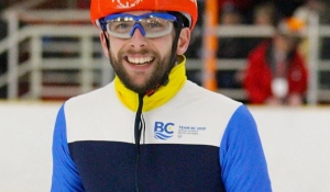 Speed skater Matthew Williams has won a 2020 athlete of the year award from Special Olympics Canada (Photo Special Olympics BC).