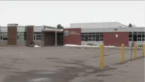 Linwood Public School will be closed for at least two weeks starting on Dec. 7. (Natalie Van Rooy/CTV Kitchener) (Dec. 5, 2020)