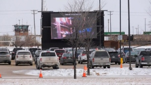 Drive-in church service breaches health orders