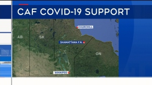 Military sent to First Nation to help fight COVID