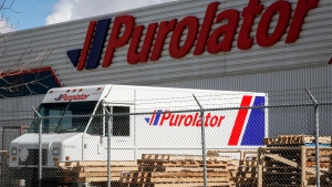 Purolator Inc. is building up capacity at its more remote distribution centers in response to rising demand from consumers who have fled the city in search of more space amid the pandemic. THE CANADIAN PRESS/Jeff McIntosh
