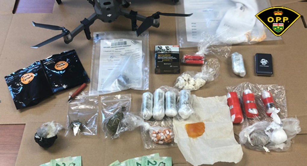 Drone and drugs for EMDC seized