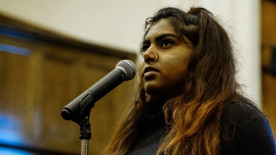 Nisha Patel, poet laureate, Edmonton
