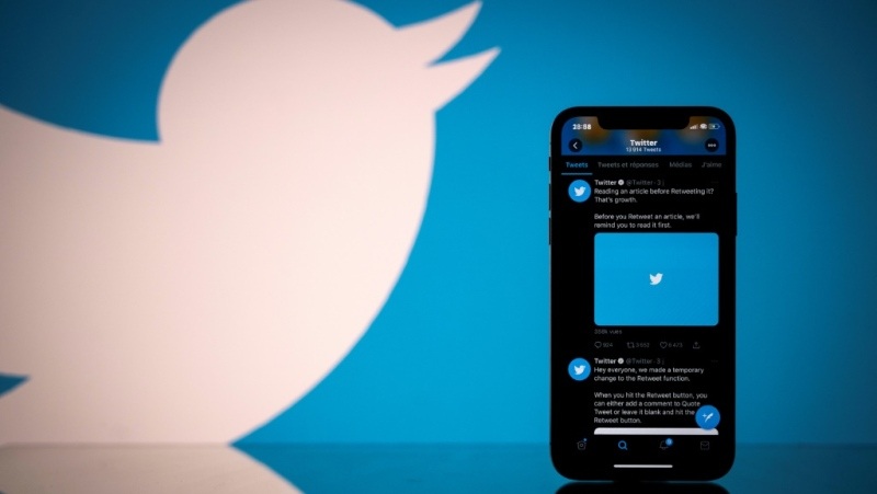 Twitter says the COVID-19 pandemic and Black Lives Matters movement were the top themes in 2020 on the messaging platform. (AFP)