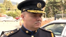 Peter Lepine was sworn in as West Vancouver's new police chief Saturday. Oct. 24, 2009. (CTV)
