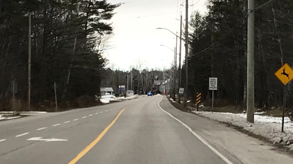 River Road West closed