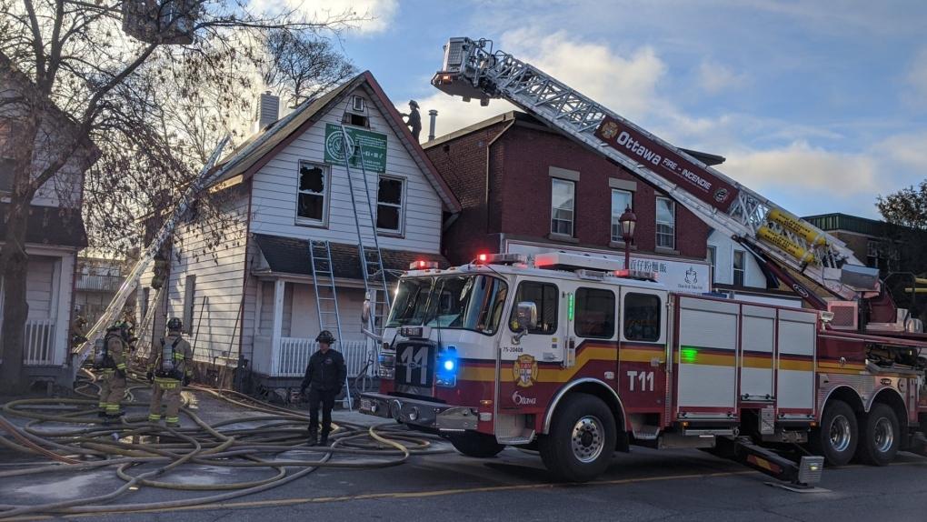 Somerset Street West fire Dec 8