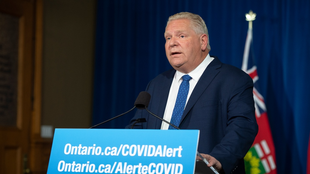 Ontario reports 1,848 new COVID-19 cases