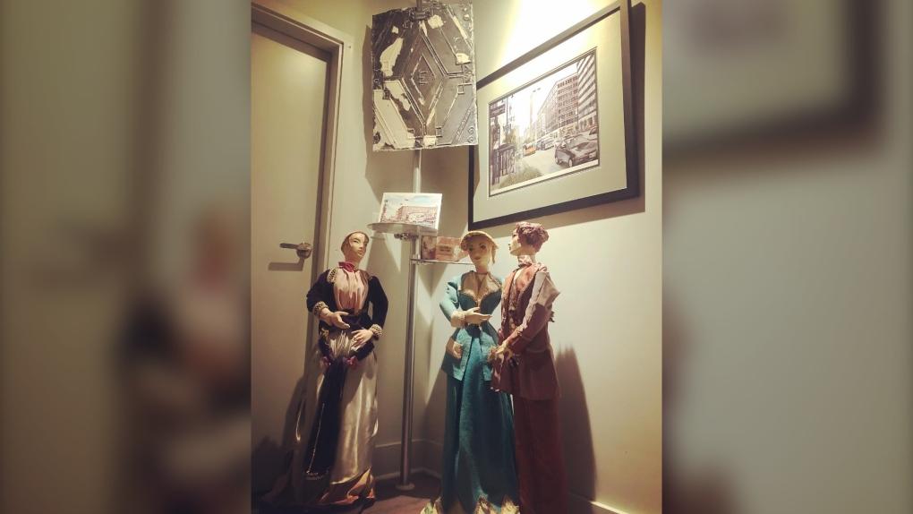 Eaton's display