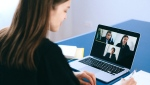 Virtual meeting. Photo by Anna Shvets from Pexels