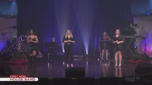 Telethon House Band performs the First Noel