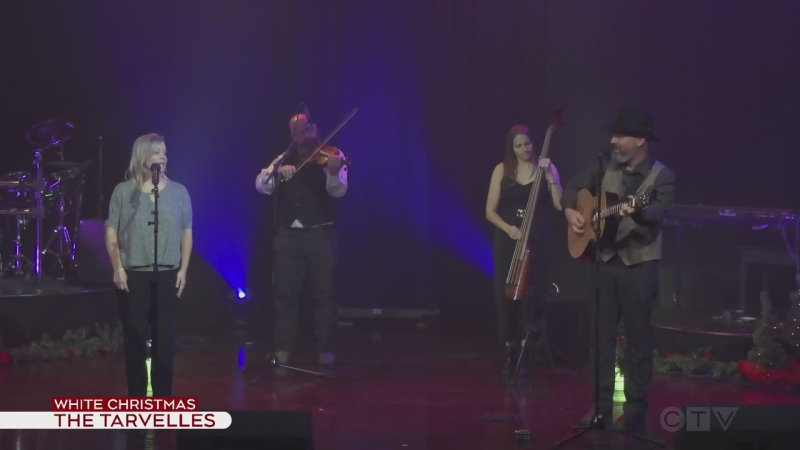 The Tarvelles perform White Christmas