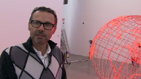 Condo seller Bob Rennie has opened a new contemporary art museum in Vancouver's Chinatown. Oct. 24, 2009. (CTV)