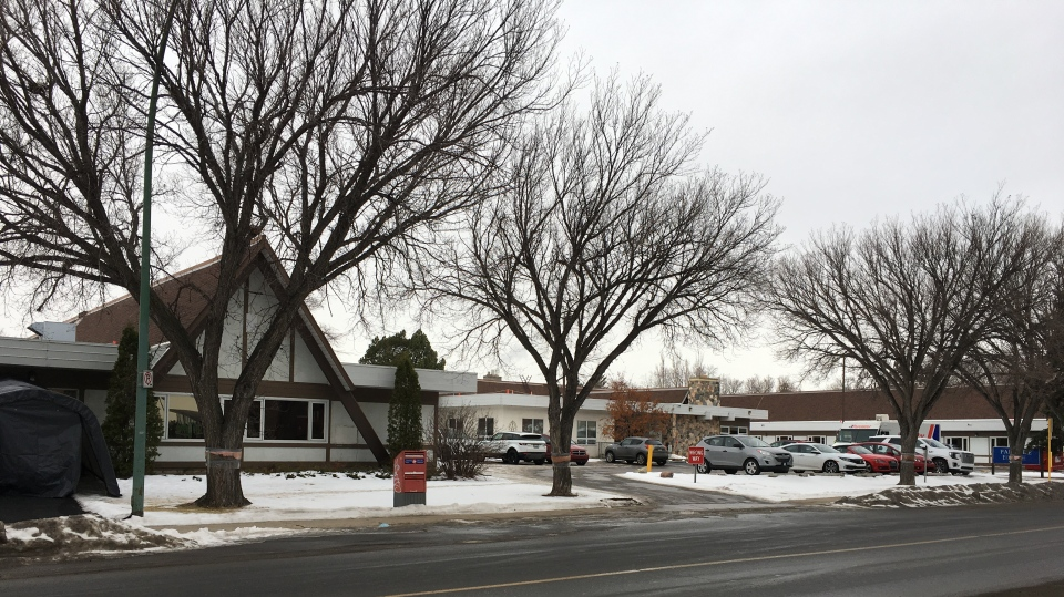 Extendicare Parkside, a care home in Regina, is seen in this image taken Dec. 9 2020. (Taylor Rattray/CTV News)