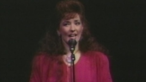 Telethon performance by Anita Perras in 1990