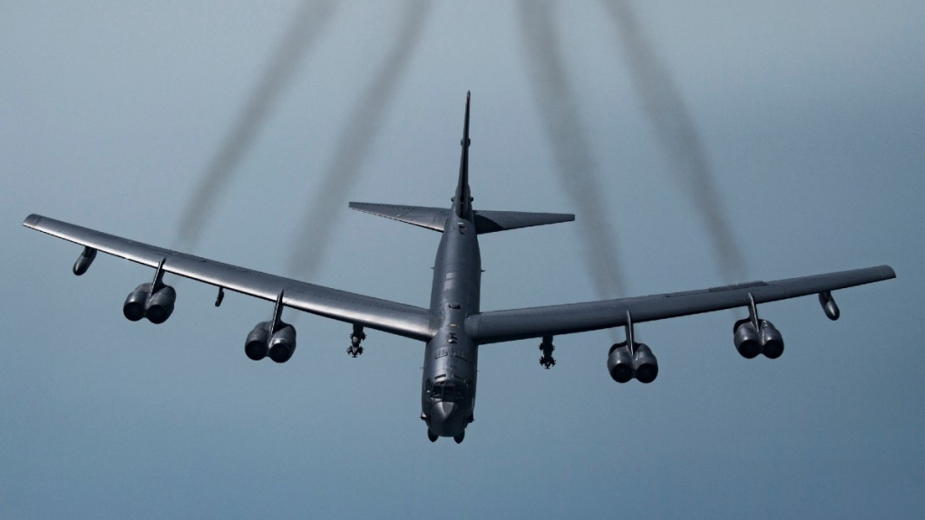 USA flies two B-52s over Gulf in message for Iran