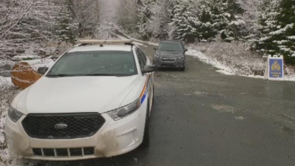 police presence in Hammonds Plains