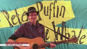 Peter Lenton performs If Kids Ruled The World