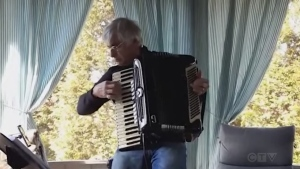 Sudbury accordion player and teacher Anthony Smrke covers Engelbert Humperdinck's 'The Last Waltz.'