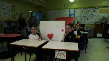 Gardenview Elementary School gets into the Spirit of Giving; some of the support will go to La Mosaique.
