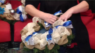 One Regina woman is custom making wreaths with proceeds from purchases going towards SOFIA House